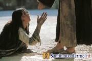 La peccatrice, chiamata donna da Gesù, come la Madre Immacolata. V Domenica di Quaresima - C