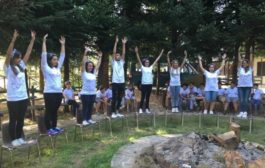 Campo scuola parrocchiale Lago Laceno 2016: rappresentazione teatrale