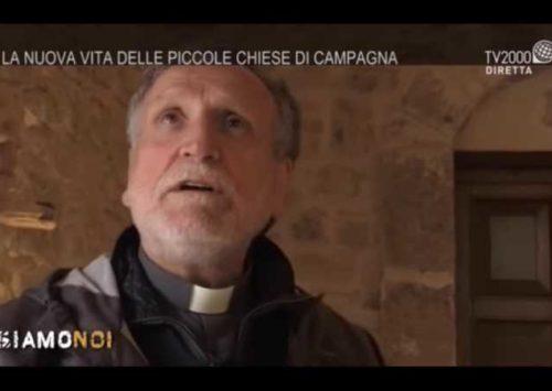 """Intervista TV2000 a don Benito per Casa Famiglia """"IKTUS"""" (Min 52.40)"""