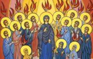 Non siamo soli, ma abitati da Dio. PENTECOSTE