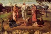 Il Paradiso non è pieno di uomini perfetti, ma di peccatori perdonati. Trasfigurazione del Signore - A