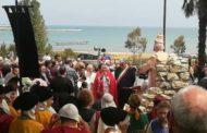 Benedizione statua San Timoteo