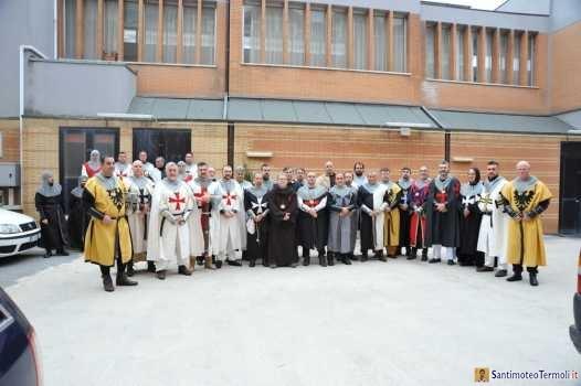 Cavalieri di San Timoteo: Benedizione dei nuovi Cavalieri e ammissione dei Novizi - Domenica 31 Gennaio 2016.