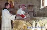 Apertura porta santa ad Iktus e dedicazione cappella Santa Maria dell'Accoglienza