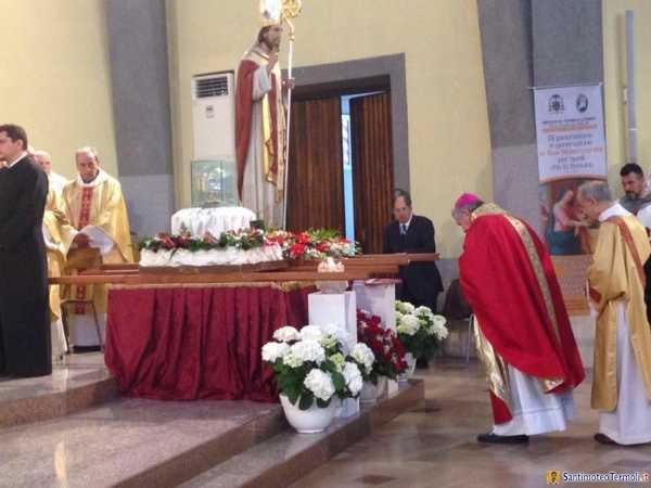 Festa san Timoteo 2016 santa messa e processione.