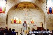 Festa del perdono presso cappella