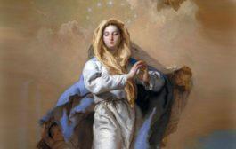 """""""Gesù è il sole, Maria è l'aurora che preannuncia il suo sorgere"""". Immacolata Concezione-Anno A."""