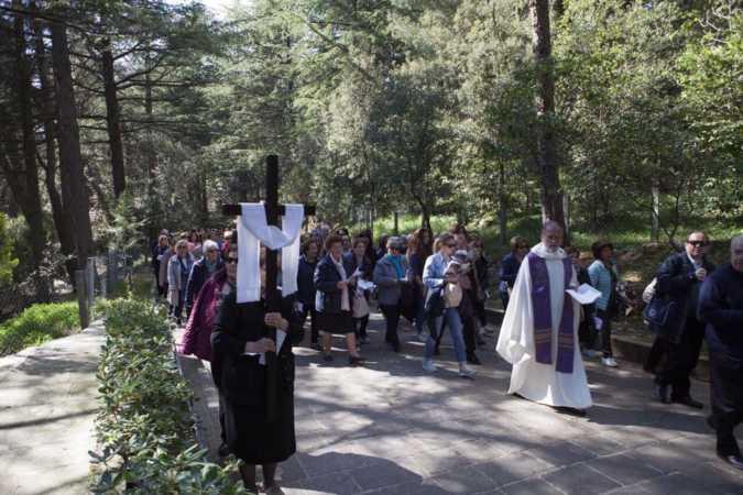 Via crucis a San Giovanni Rotondo - 10 aprile 2017