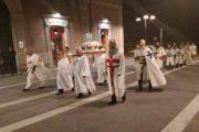 Processione con le reliquie di San Timoteo