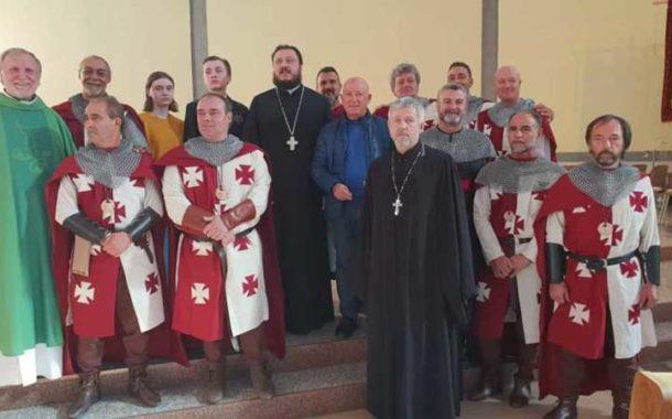 Celebrazione alla presenza dei fratelli della chiesa Ortodossa Russa di Kemerovo.