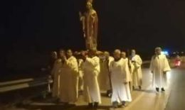 Fiaccolata in onore di San Timoteo