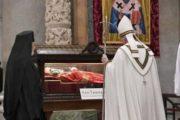 Ricordando il Pellegrinaggio del Corpo del santo a Roma - FESTA DI SAN TIMOTEO 2020