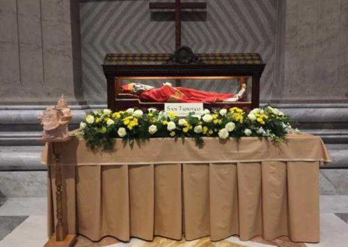 Ricordando il Pellegrinaggio a Roma: Domenica della Parola – FESTA DI SAN TIMOTEO 2020