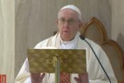 Papa Francesco saluta i fedeli di Termoli nella festa di San Timoteo da Santa Marta Video