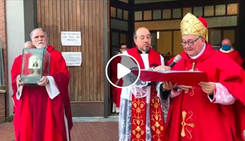 Solennità di San Timoteo 2020 celebrazione eucaristica giro processionale e benedizione